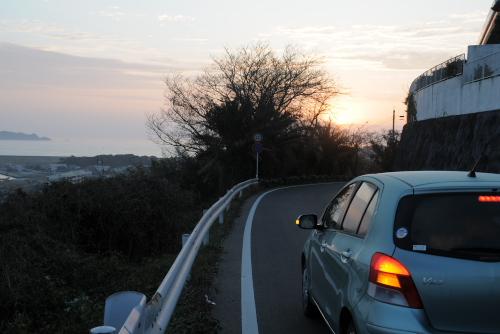 福江で見る最後の朝日