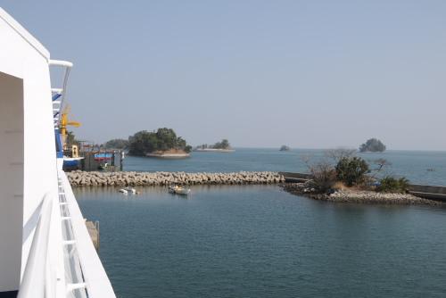 有明海に浮かぶ小島