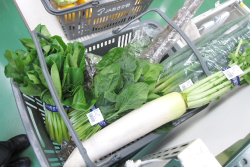 和光農産物直売センターの野菜