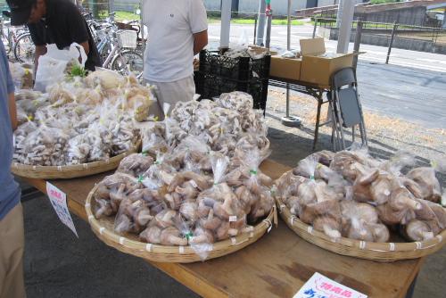 新座農産物直売センターの「ぶどう祭り」