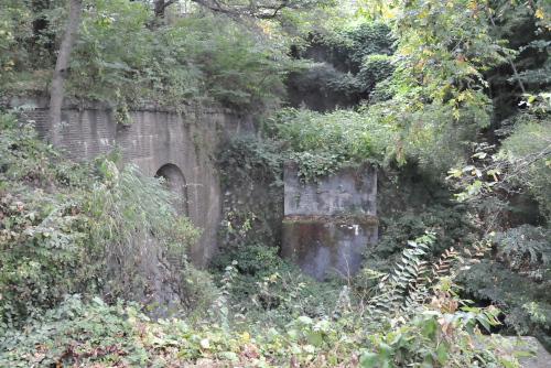 大日影トンネル遊歩道を歩いた