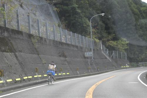 自転車のお遍路さん