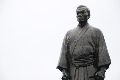 ジョン万次郎の像