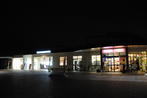 伊予灘SAの夜景