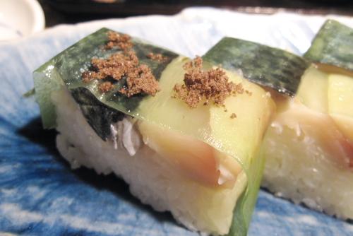 三崎漁師物語り・岬鯖の押し寿司