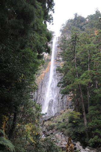 落差133mの那智の滝