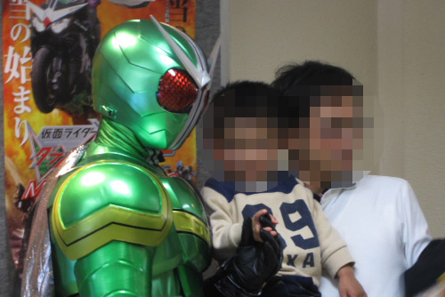 仮面ライダー×仮面ライダー W&ディケイドMOVIE大戦2010 の試写会