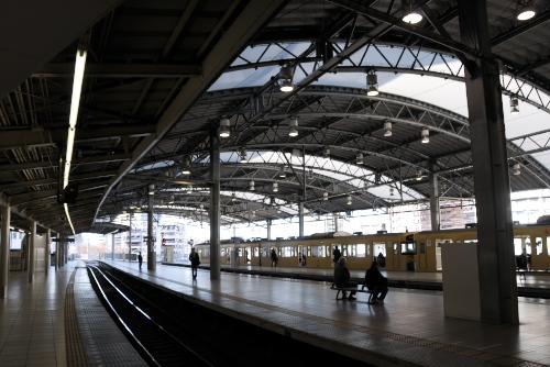池袋駅:西部南口へ向かう