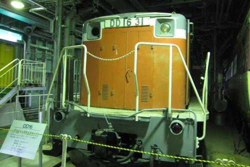 国鉄DD16形ディーゼル機関車(DD16 31)
