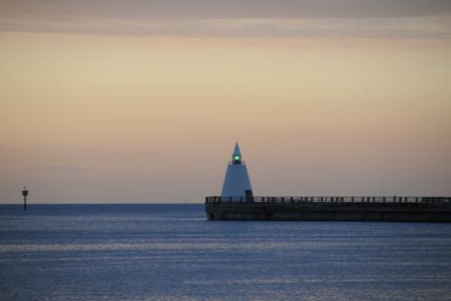 青森港北防波堤西灯台