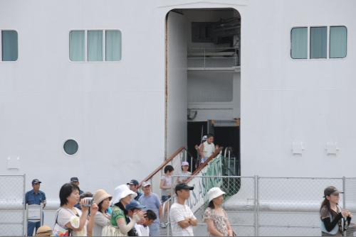 みなと埠頭まつり in 船川港