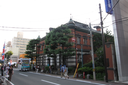 秋田市立赤れんが郷土館(旧秋田銀行本店)