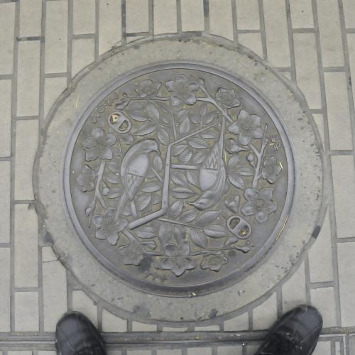 福島のマンホール