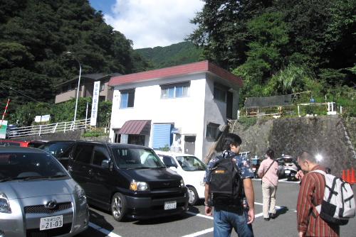 大山ハイキング第2駐車場