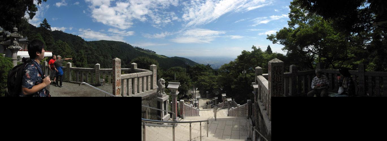 阿夫利神社からの眺め