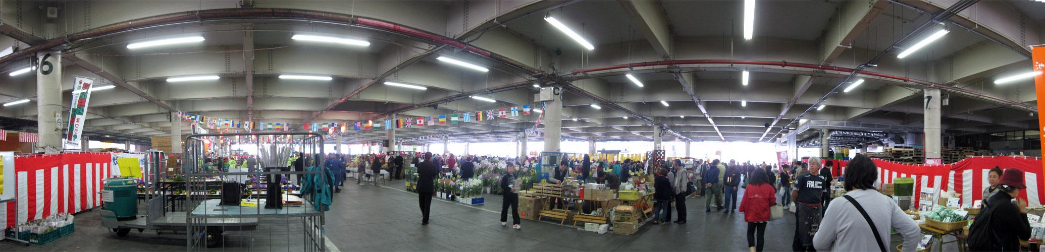 板橋市場:内部