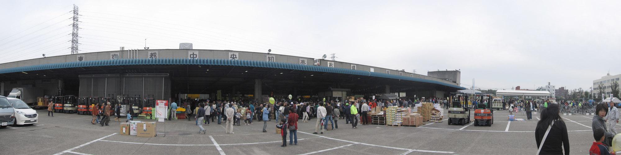 板橋市場:外観