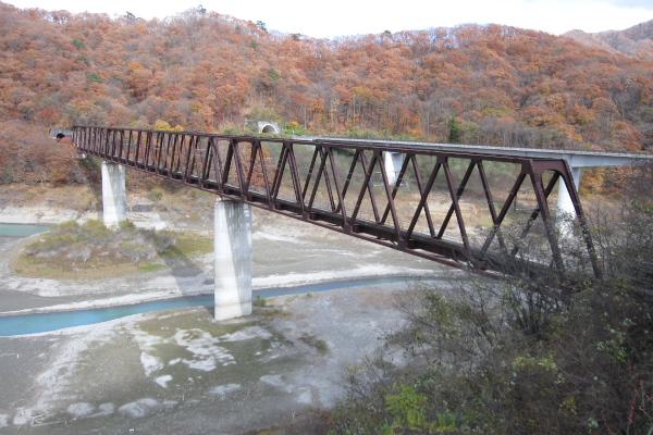 野岩線湯西川橋梁