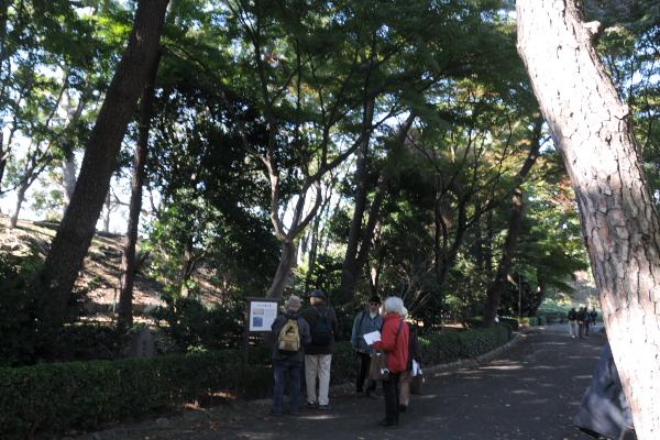 松の廊下跡