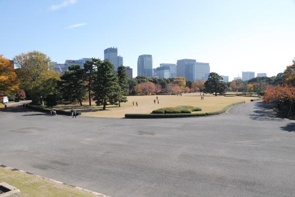 江戸城本丸御殿の跡地