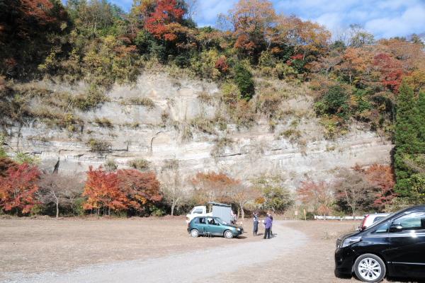 梅ヶ瀬渓谷有料駐車場