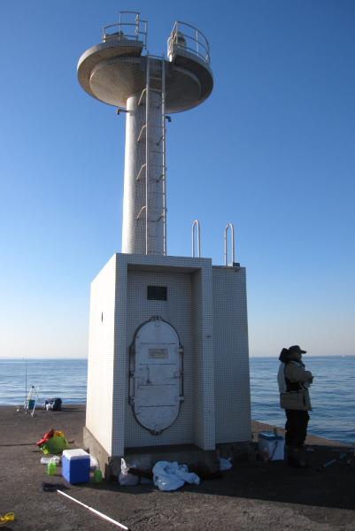 木更津港防波堤西灯台