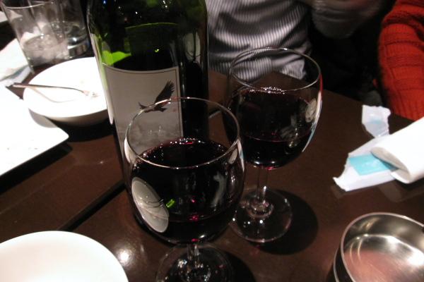 ワインがぶがぶ