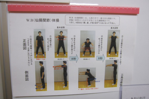 W.B.(仙腸関節)体操