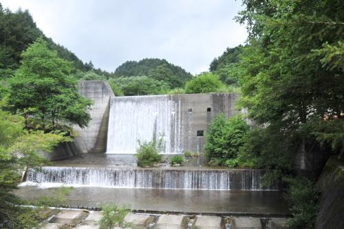 笹川押出砂防ダム