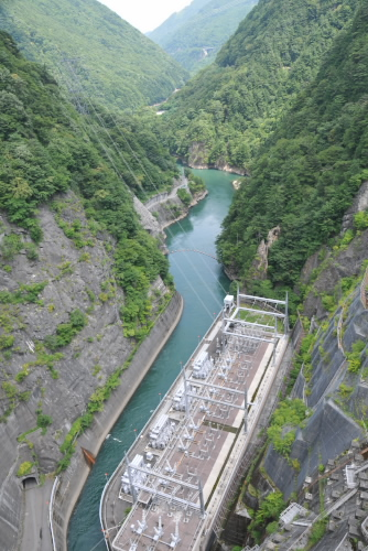 奈川渡ダム