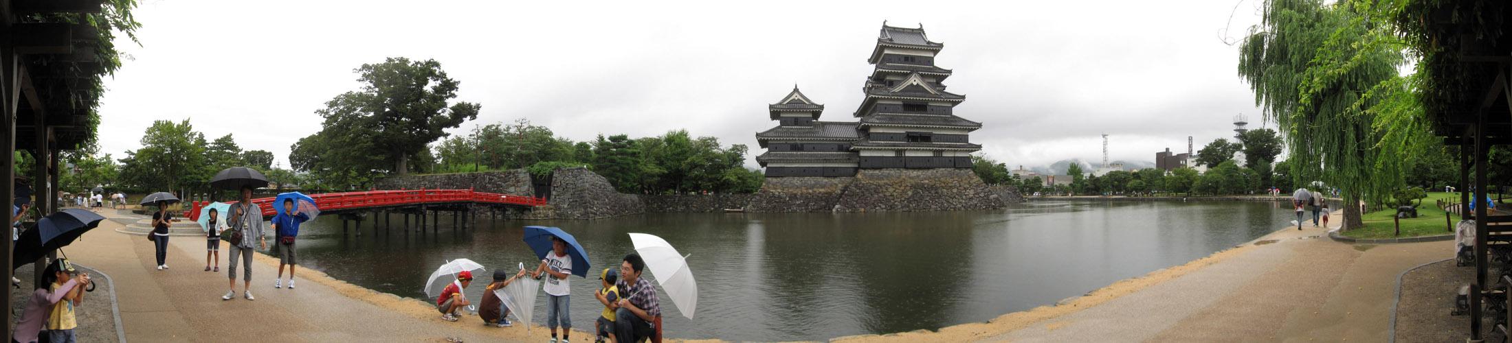 パノラマ:松本城