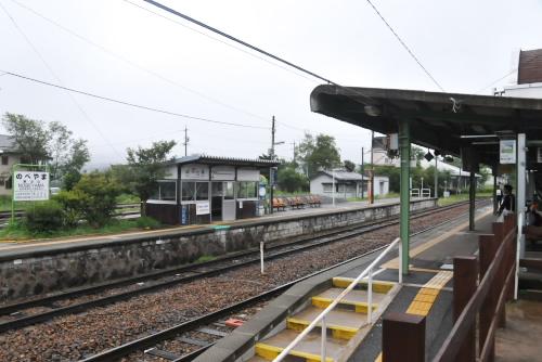 野辺山駅・プラットフォーム