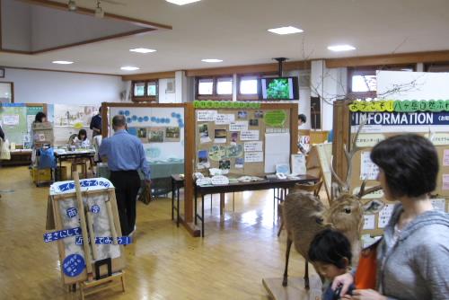 館内の展示