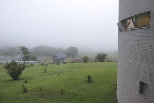 太陽館からの眺め