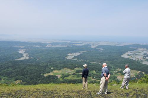 吉川:山頂からの眺め