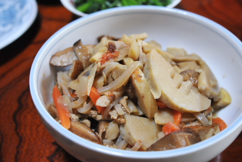 吉川:筍の煮付け
