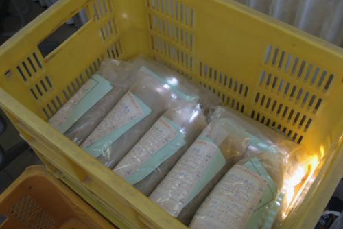 吉川:玄米のサンプル