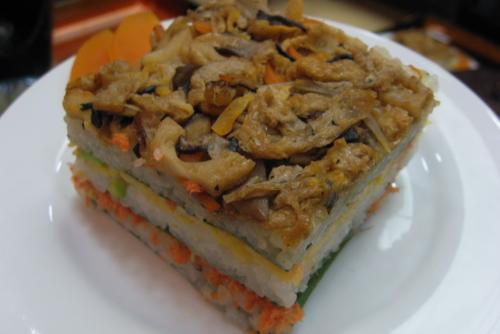 吉川:笹押し寿司