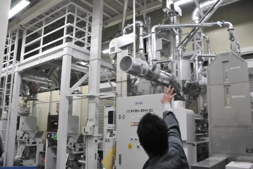 吉川:無洗米加工装置 (NTWPO5A)