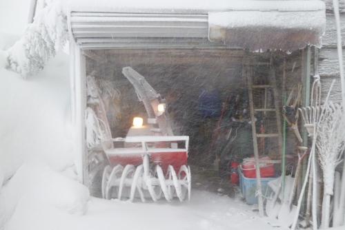 吉川:午後の除雪