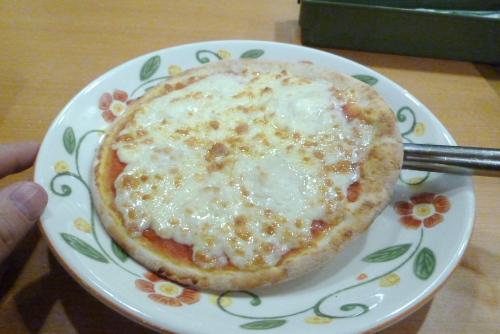 おいしくないピザ