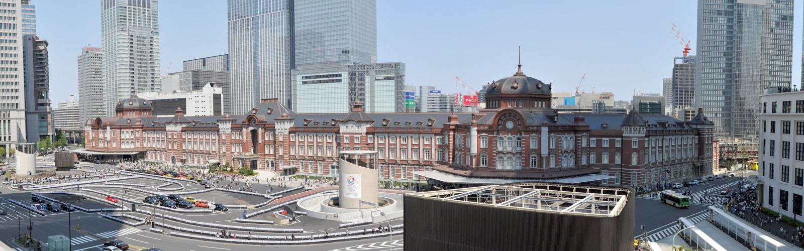 パノラマ:2013年の東京駅