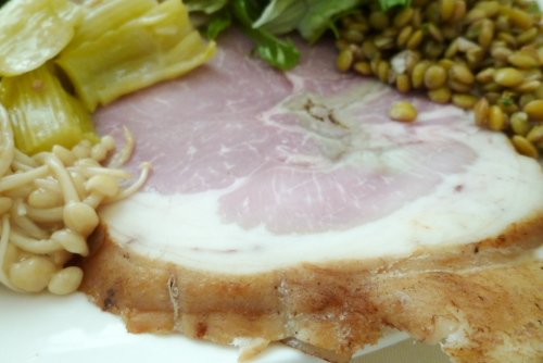 本郷Abats:自家製ジャンボンドパリのサラダ仕立て