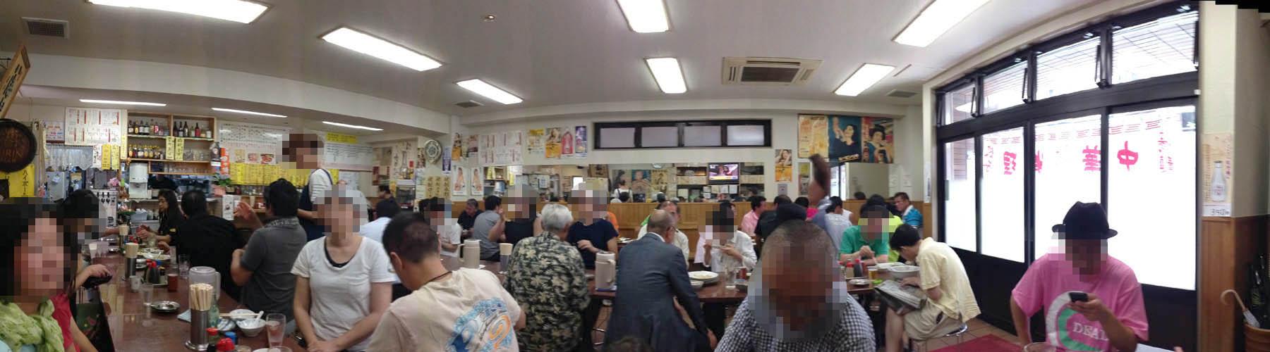 新丸子 三ちゃん食堂:店内