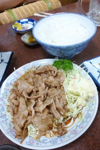 新丸子 三ちゃん食堂:ヤキ肉ライス