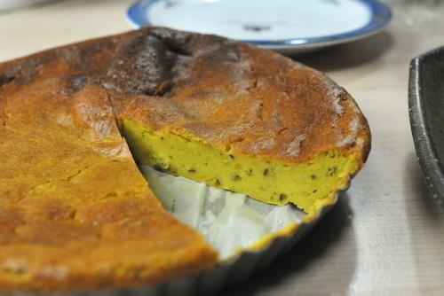 バターを使わないカボチャ(サツマイモ)ケーキ