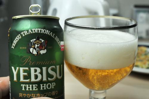 ビールと空気と時間