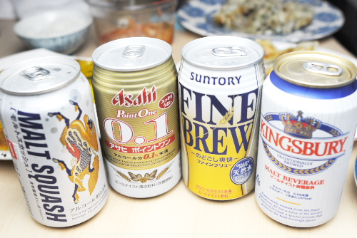 ビールテイスト飲料の楽しみ