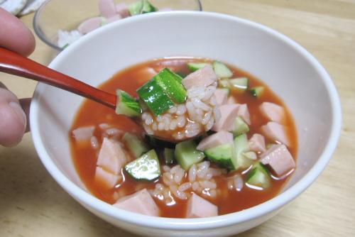 トマトジュース茶漬け from 和風総本家
