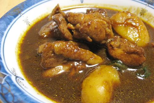 強制的に食が進むぜ / [丸大食品] 鶏肉でつくるカシミールカレー 極辛口